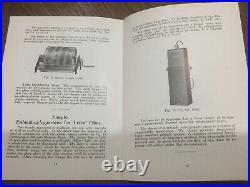 1929 LEICA 1a LEITZ WETZLAR I Original Sales Brochure, Instructions, Price List