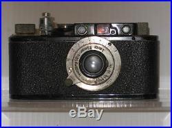1931 LEICA 1 SERIAL No. 60524 ERNST LEITZ WETZLER DRP ELMAR 13,5 F=50mm CAMERA