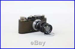 1932 LEICA II Model D DRP Ernst Leitz Wetzlar Camera with Elmar 9cm 90mm f4 Lens