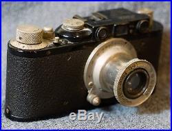 1932 Leica Model II (D) Camera Body with Pre-1933 Nickel Elmar f3.5 Lens