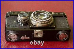 1934 Contax I, Version 7, 1932 Zeiss Tessar 5cm f2.8 lens, case, fully working