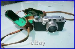 1935/1936 Leica 111a 35mm Rangefinder Camera with Summar 50mm Lense, Nice, NR
