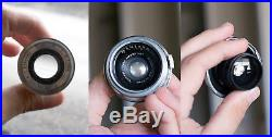 1936 Zeiss Icon Contax II Camera, Two Zeiss Lenses, and Original Leather Cases