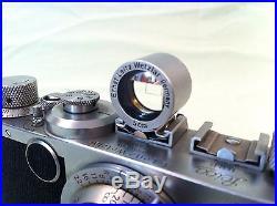 1949/50 Vintage D. R. P Leica IC No. 455745 DRP Camera+Screw Mount Leitz Elmar Lens