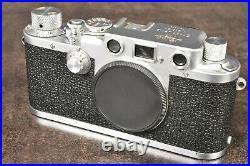 1950 LEITZ LEICA IIIF 35mm RANGEFINDER FILM CAMERA SN. 526847