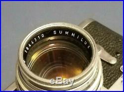1954 Vintage Leica M3 Double Stroke Rangefinder Camera #731551 withCase, Lens