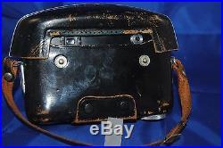 1958 Vintage 35mm Ricoh model 519 camera ALL BLACK RARE version