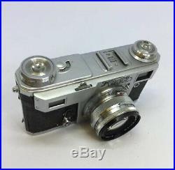 +1960 Vintage USSR KIEV 4A Rangefinder Film Camera Jupiter 8M Lens + Case! Contax