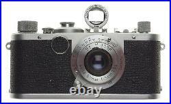 1c Leica IC 35mm film rangefinder camera M39 RF Elmar f=5cm 3.5 Leitz Impresive