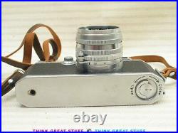 21001183 Canon IIF2 EP vintage 35mm Rangefinder Camera Outfit
