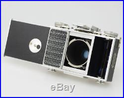 3 pieces Lucien Baudry Isographe L. Duguy cameras with Berthiot Flor lenses