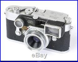 4x Camera Leica M2 M3 PARTS