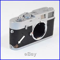 A vintage LEICA M1 CAMERA BODY. Body only, numbered 1085 002