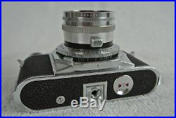 ABSOLUTE MINT VOIGTLaNDER PROMINENT CAMERA with NOKTON 50/1.5 and SD 150/4.5