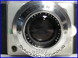 Agfa Super Silette Solagon 12 / 50 Kamera Camera Rangefinder Synchro-Compur rar