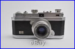 Appareil Photo OPL Foca PF2B Fotoapparat FRANCE, OPLAR 3,5 / 5 cm Lens RARE j36