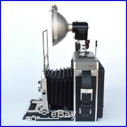 Appareil photo 4x 5 GRAFLEX Super GRAPHIC avec flash à 2 cellules