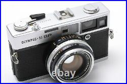 As Is OLYMPUS 35 SP Rangefinder 35mm Film G. ZUIKO 42mm F/ 1.7 JAPAN 201308