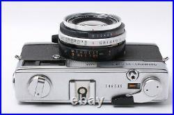 As Is Olympus 35 SP Rangefinder Film Camera G. Zuiko 42mm F/ 1.7 JAPAN 201280
