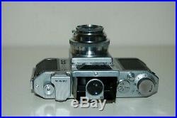 Asahiflex Ia Vintage Japanese SLR Camera & Takumar 3.5/50 Lens. 35022. UK Sale