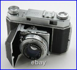BROKEN KODAK RETINA II TYPE 011 RANGEFINDER CAMERA With EKTAR 47mm f2 LENS