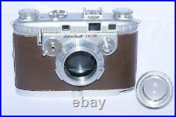 Bell & Howell FOTON vintage 35mm rangefinder camera with 50mm f2 lens. Scarce