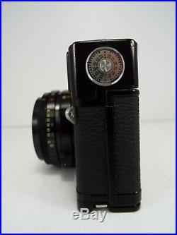 Black Olympus 35 SP 35mm Rangefinder Film Camera with Case