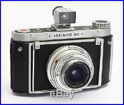 Brooks Plaubel Veriwide 100 Camera with Super Angulon 47mm f/8 Lens