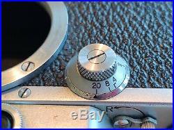 CANON IIB 35MM RANGEFINDER #37173 SERENAR 50MM F1.8 LENS rare Occupied Japan NR