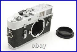 CLA'd NEAR MINT LEICA Leitz M4 Silver RANGEFINDER Film Camera with Case Japan