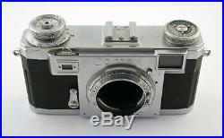 CONTAX IIa body rangefinder Messsucher Zeiss Ikon DEFEKT DEFECTIVE as is /19K
