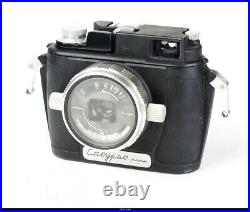 Calypso Cameras With Lens Som Berthiot Flor 3,5/35mm