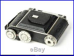 Camera 6x6 RF Plaubel Germany Roll Op II Lens Antlicomar 2,8/7,5cm Casse Mint