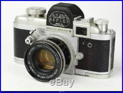 Camera Alpa Reflex Mod 6 b Lens Kern Macro Switar 1.8/50mm AR