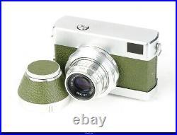 Camera CARL ZEISS WERRA 1 GREEN 35mm with TESSAR 2,8/50 MINT