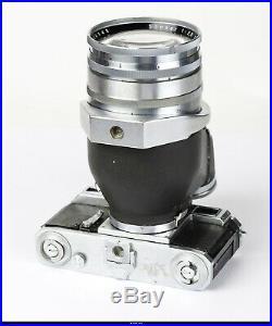 Camera Contax II Jena With Flektoscop + Zeiss Sonnar 2,8/18cm Chrom