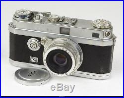 Camera Foca R With Lens 2,8cm 3,5cm 5cm 13,5cm