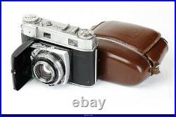 Camera Kodak Retina IIIc Lens Schneider Xenon 2/50mm red C No. 632347 EX
