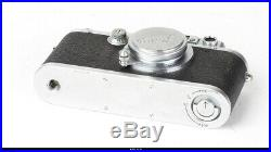 Camera Leica IIIa With Lens Elmar 3,5/5cm With Casse Cap