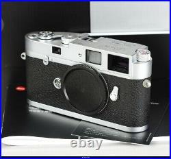 Camera Leica M-A No. 04915730 Siver Chrom Body 10371 Mint Box
