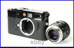 Camera Leica M6 Oresundsbron with 1,4/50 Summilux-M No. 063 Black Paint Mint Box