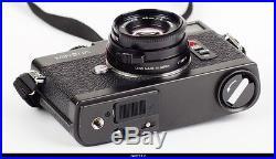 Camera Leica Minolta CLE Lens M Rokkor 28mm 40mm 90mm Set Mint