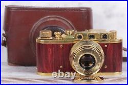 Camera Leica Panzercampf model, lens Sonnar Carl Zeiss 2.8 / 52 mm