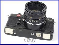 Camera Leica R3 With Lens Summicron R 2/50mm