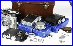 Camera RF Plaubel Makina III Set