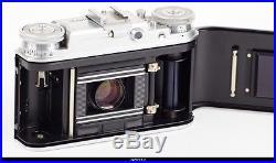 Camera RF Voigtlander Vito III Lens Ultron 2/50mm