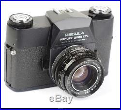 Camera Regula Reflex 2000 CTL With Lens Schneider Xenon 1.9/50mm M42 Mint