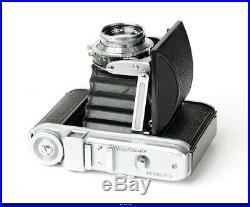 Camera Voigtlander Perkeo II 6x6 With Lens Color Skopar 3,5/80mm Mint Box