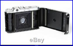 Camera Voigtlander Perkeo II 6x6 With Lens Color Skopar 3,5/80mm Mint- Box