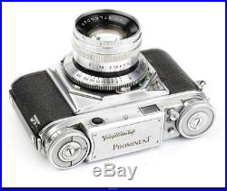 Camera Voigtlander Prominent With Ultron 2/50mm NoB12923